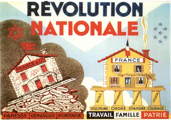 La nouvelle devise française « travail, famille, patrie » remplace