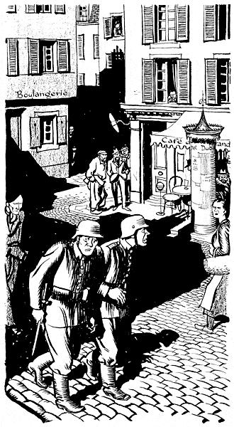 De leslie illingworth paru dans le daily mail le 24 septembre 1941