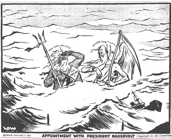 Le 6 janvier 1941 : &;rendez-vous avec le président roosevelt