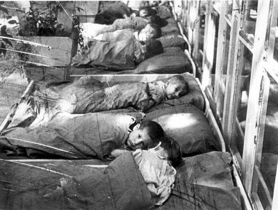 Barraque des enfants dans le c de theresienstadt
