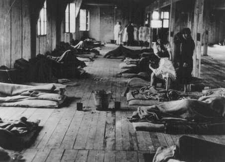 Barraque des femmes du c des femmes à theresienstadt