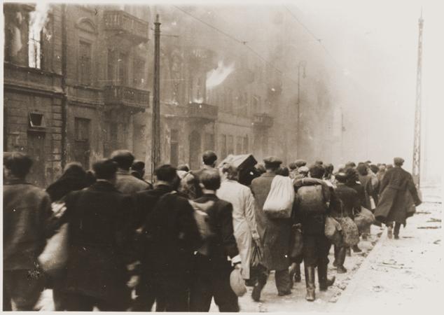 Stroop sur la répression de la révolte du ghetto de varsovie avec la